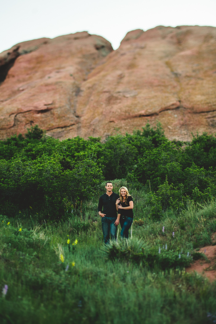 colorado engagement photo
